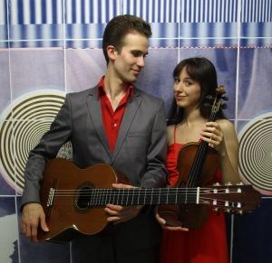 Cosima Bodien und Samuel Toro Perez